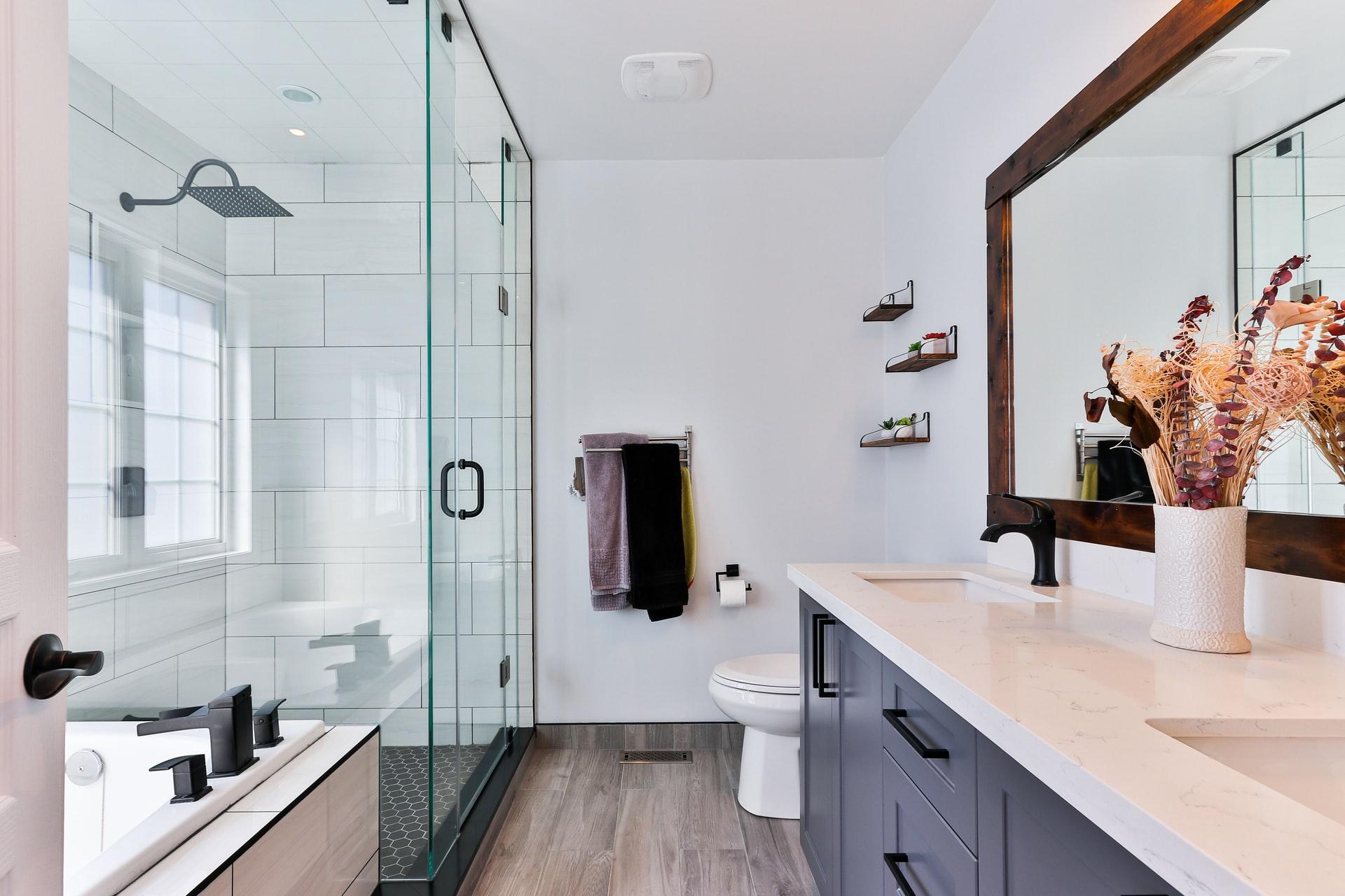 Bathroom remodeling for a fresh mind