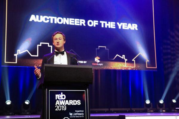 James Pratt winner Australian Auctioneer of the Year